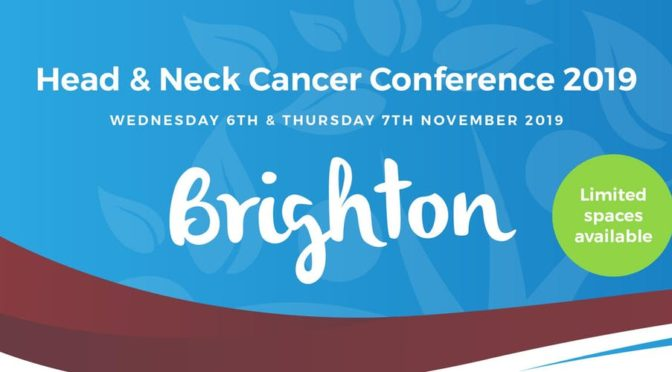 Head & Neck Cancer International Conference 2019